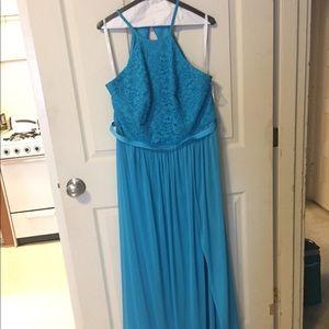 Bridesmaid Dress-color: malibu